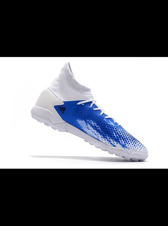 Adidas Predator 20.3 TF Blanca/Azul