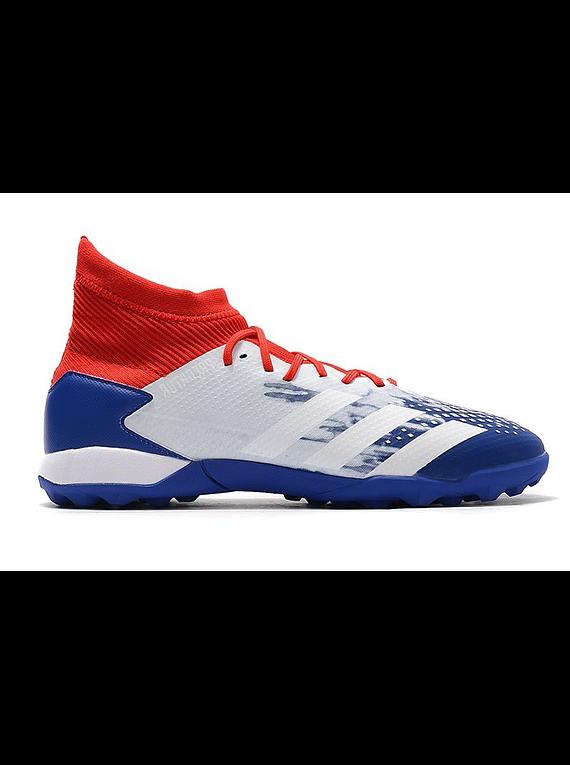 Adidas Predator 20.3 TF Azul/Rojo
