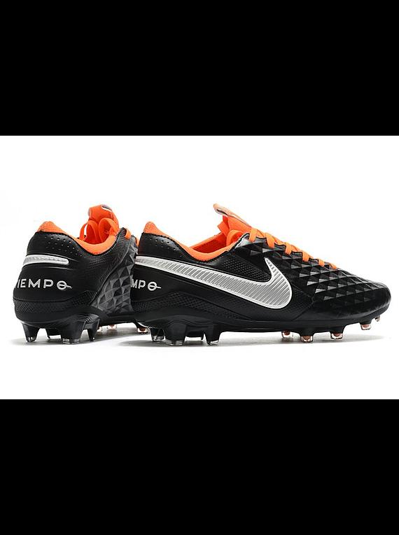 Nike Tiempo Legend VIII FG Negro/Naranja