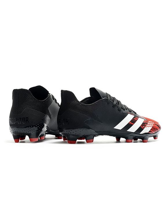 Adidas Predator 20.2 FG Negro/Rojo