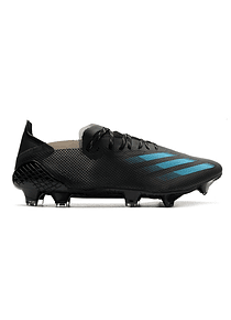 Adidas X Ghosted.1 Negro/Azul FG