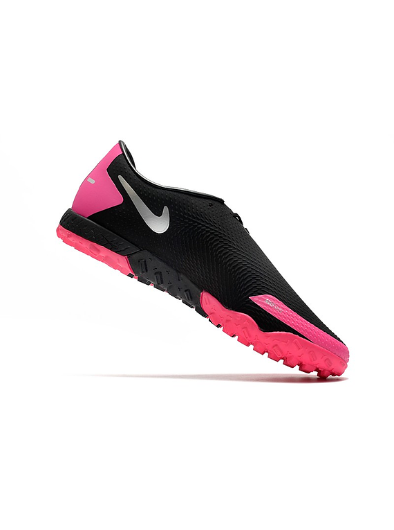 Nike React Phantom GT Pro Turf - Negro / Rosa
