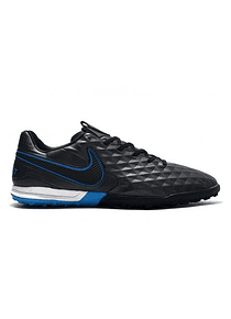 Nike Tiempo Legend VIII Pro TF Under The Radar - Negro / Azul / Blanco
