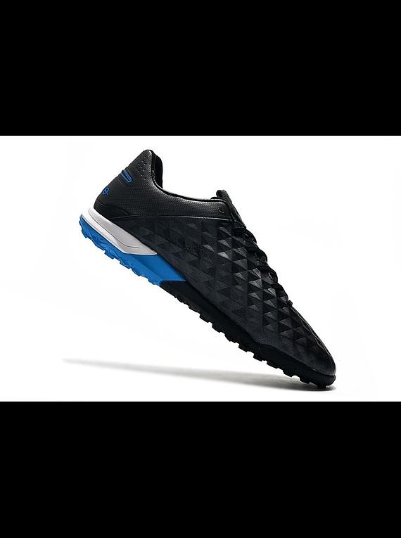 Nike Tiempo Legend VIII Pro TF Under The Radar - Negro / Azul / Blanco
