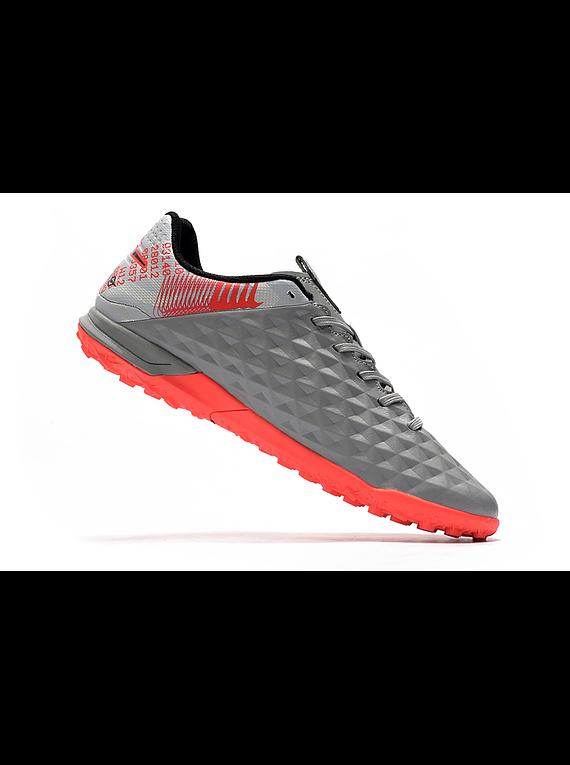 Nike Tiempo Legend VIII Pro TF Under The Radar - Gris / Salmon