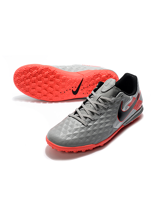 Nike Tiempo Legend VIII Pro TF Under The Radar - Gris / Salmon