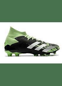 Adidas Predator Mutator 20.1 AG Sock - Negro / Verde / Blanco