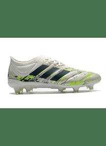 Adidas Copa 20.1 FG Para Hombre - Blanco / Negro / Verde Señal