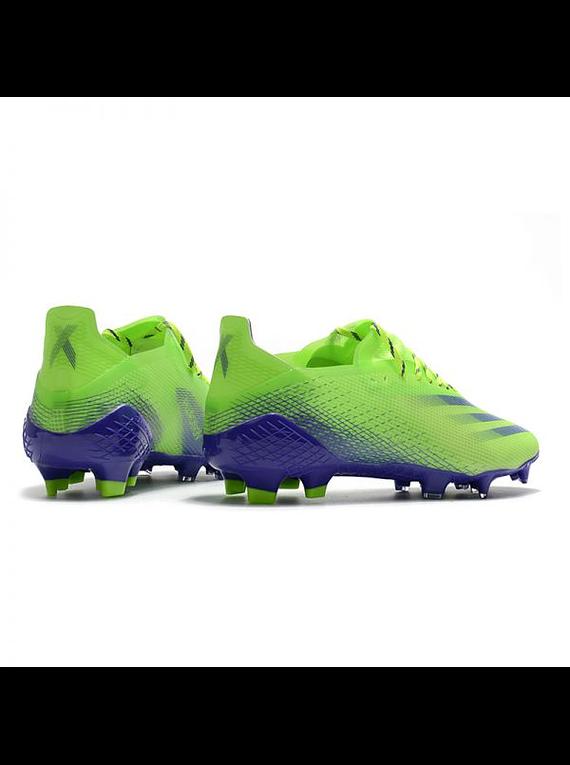 Adidas X Ghosted .1 FG Azul/Verde