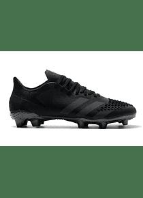 Adidas Mutator Predator 20.2 Low FG - Negro/Plata