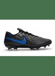 Nike Tiempo FG Negro/Azul