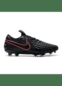 Nike Tiempo Legend VIII Elite FG - Negro/Rojo
