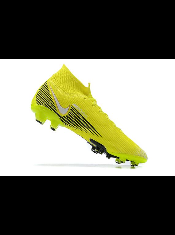 Nike Mercurial Superfly VII Elite FG Blanco / Negro