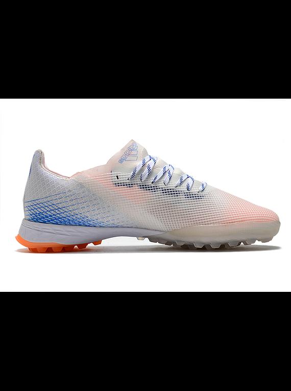 Adidas Ghosted .1 TF Blanco/Naranja