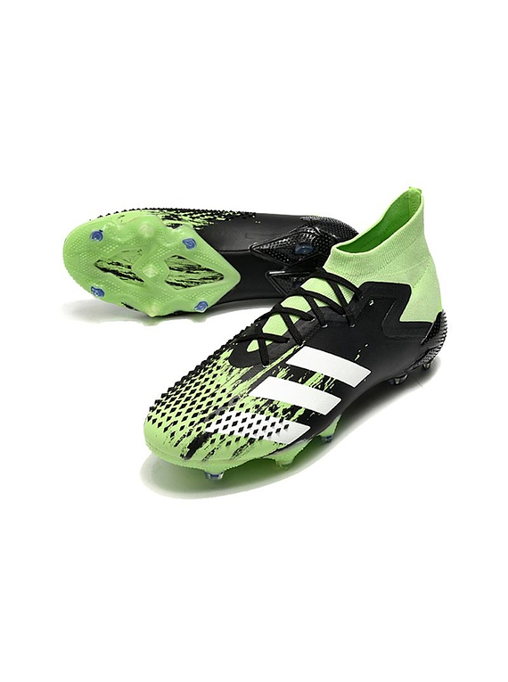 Adidas Predator Mutator 20.1 FG  Negro / Verde / Blanco