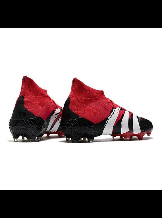 Adidas Predator Mutator 20.1 FG Negro/Rojo/Blanco