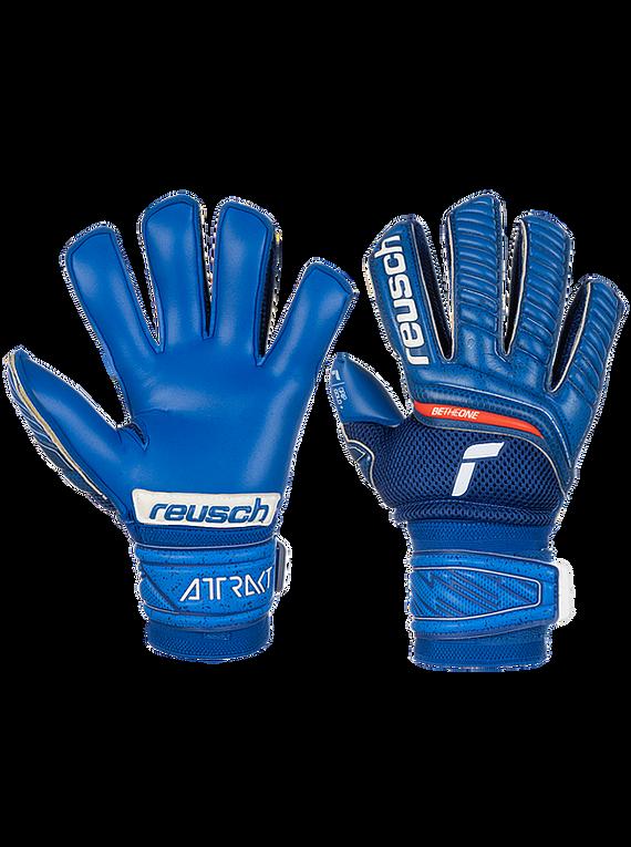 Reusch Attrakt Pro Gold (Antifractura) Azul