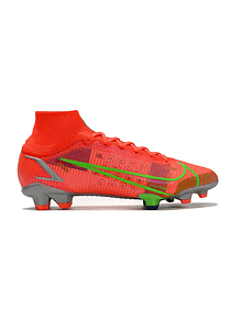 Nike Mercurial Superfly VIII Elite FG Salmon/Metálico