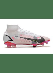 Nike Superfly 8 Spark Positivity Laser Blanco