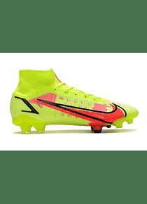 Nike Mercurial Superfly  8 Elite FG Amarillo Neon