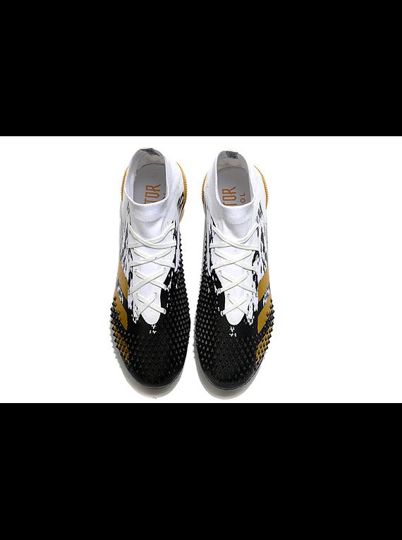 Adidas Predator Mutator Negro/Blanco/Dorado FG