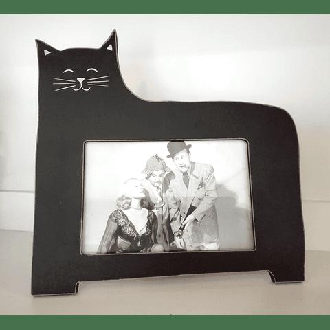 Moldura Gato Preto