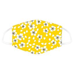 Máscara Protetora Flores Amarelas