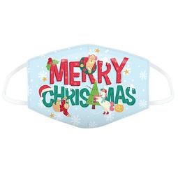 Máscara Protetora Merry Xmas