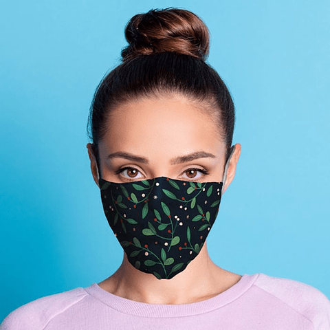 Máscara Protetora Azevinho