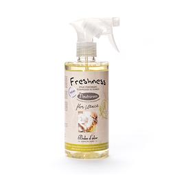 Spray Tecidos Flores Brancas