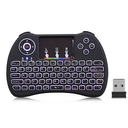 Mini Teclado Pc, Keyboard, 2.4 Gamer Inalámbrico Touchpad Android, Tv, Windows