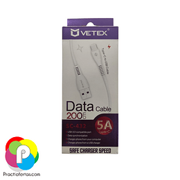 Cable Data Tipo C 5A 200cm