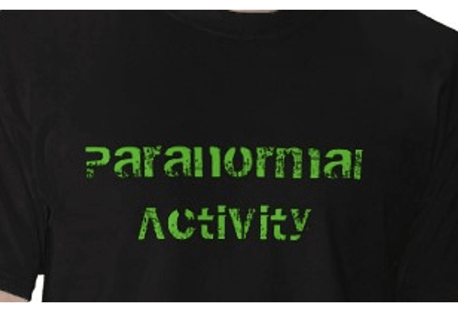 Paranormal Activity Black T-shirt