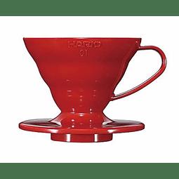 Dripper V60-01 Rojo