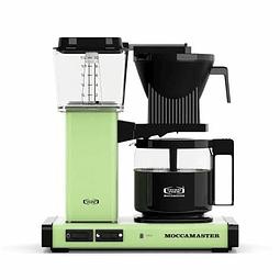 Cafetera Moccamaster Verde Pastel
