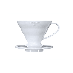 Dripper V60 02 Acrílico Blanco