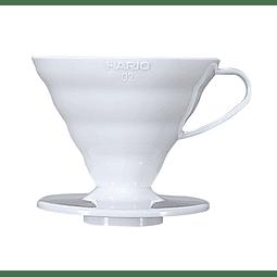Dripper V60 Cerámica Blanco 02