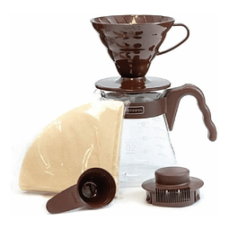 Coffee Server Set - Kit completo V60 Marron