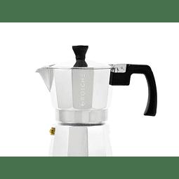 Cafetera Moka Grosche Milano Silver 3 cup