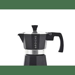 Cafetera Moka Grosche Milano Black 1 Taza