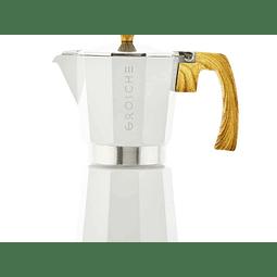 Cafetera Moka Grosche Milano White 9 Tazas