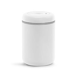 ATMOS VACUUM CANISTER MATTE WHITE 1,2 lts
