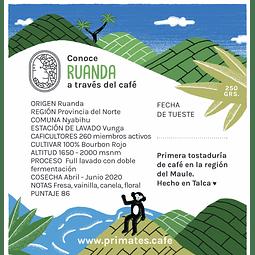 Café Ruanda Nyabihu (Lavado) 250gr