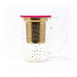 Mug Bhoro Estrellas Fucsia (470ml)