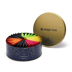 Caja Redonda 30 teabags Turquesa