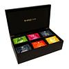 30 Teabags Caja Madera Negra