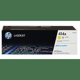 W2022A Cartucho de Tóner HP LaserJet 414A,.2100 Páginas, Amarillo