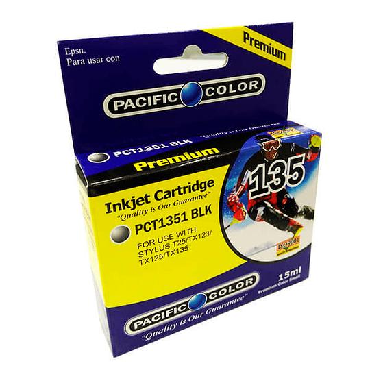 135 Negro Cartridge Pacific Color Comp Epson
