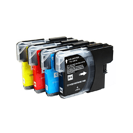 Lc60/Lc61/ Lc980/Lc1100 Pack 4 Cartuchos