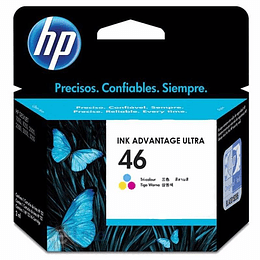 HP 46 CARTRIDGE HP COLOR 750 PAG. 2529/4729